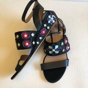 NWT Tory Burch Estella jewel wedge sandal shoe